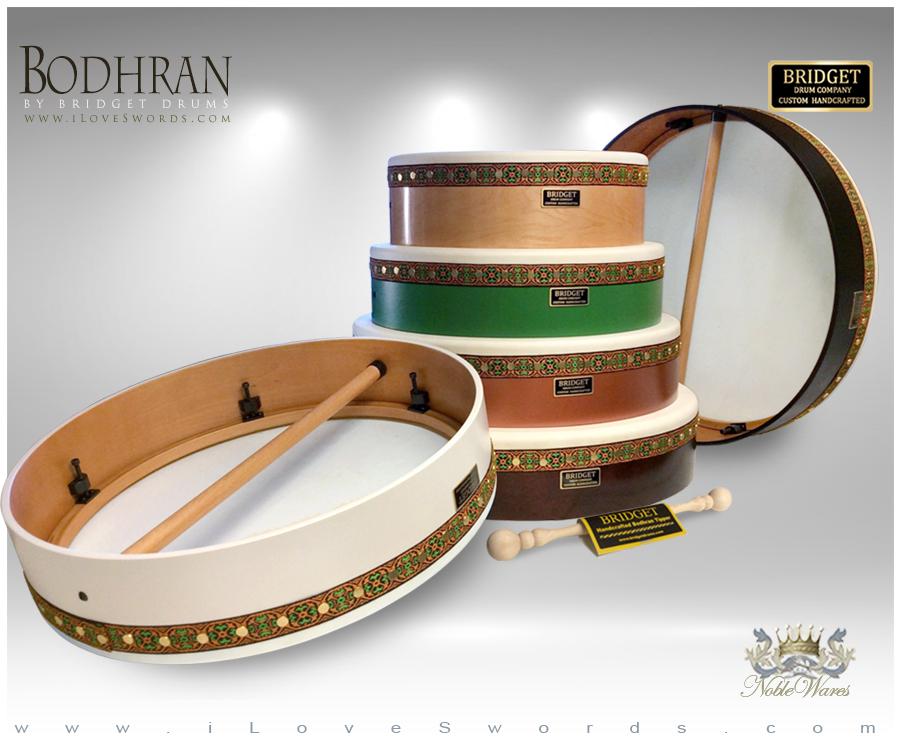 Bodhrans Irish Frame Drums