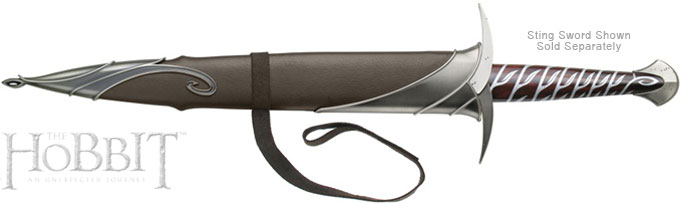 Bilbo Baggins Sting Sword Scabbard prop replica UC2893 from