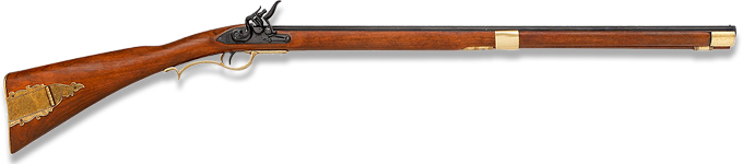"non-firing replica of ""Old Betsy"" the Kentucky Flintlock Rifle model 1138 by Denix of Spain"