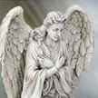 Cold Cast Stone Resin Angel Tabbris YT7463 Statues by YTC Summit,